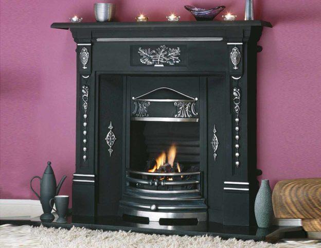 Fern Cast Iron Fireplace