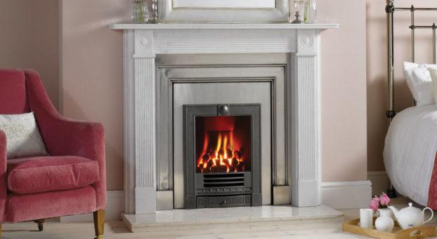 Stovax Georgian Roundel Fireplace